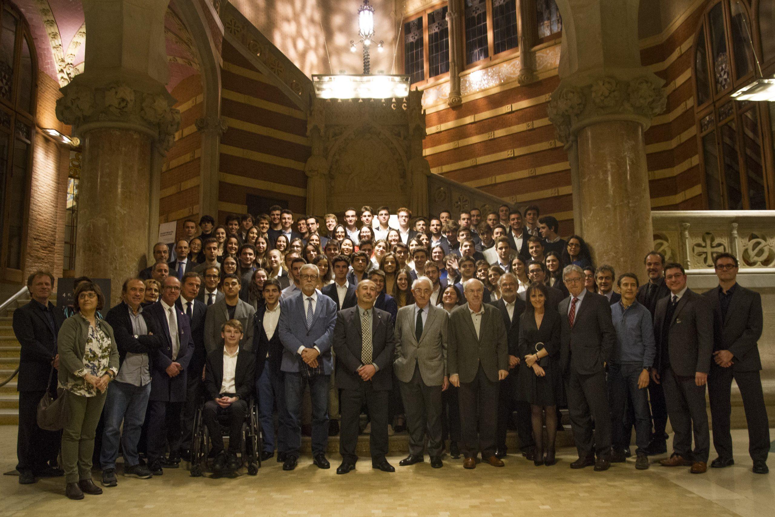 Sessió d'obertura del curs 2019-2020 del grau en Tecnologies Industrials i Anàlisi Econòmica