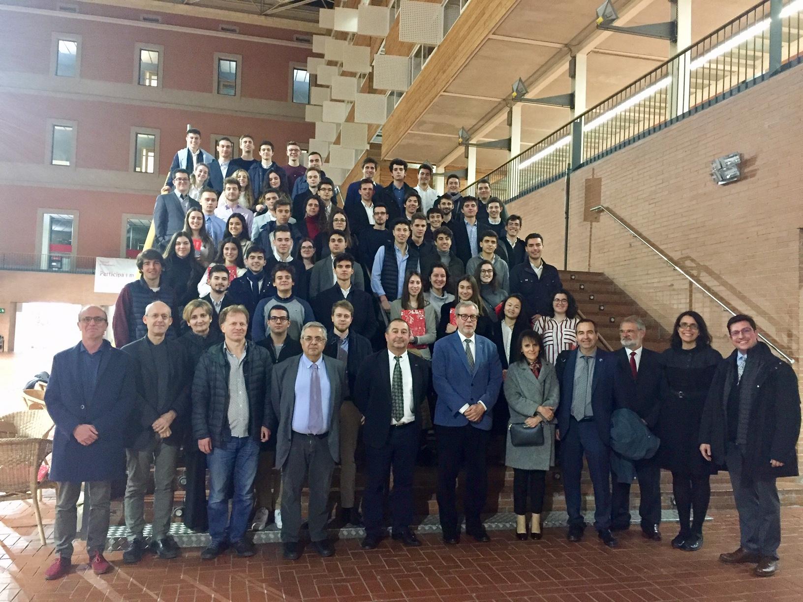 Benvinguda al Campus de la Ciutadella del grau en tecnologies industrials i anàlisi econòmica (UPF)