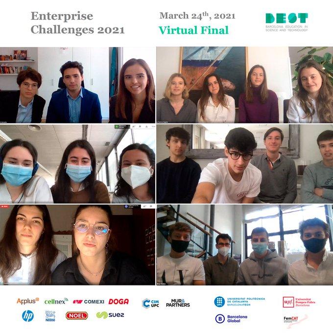 Final Virtual dels Enterprise Challenges 2021